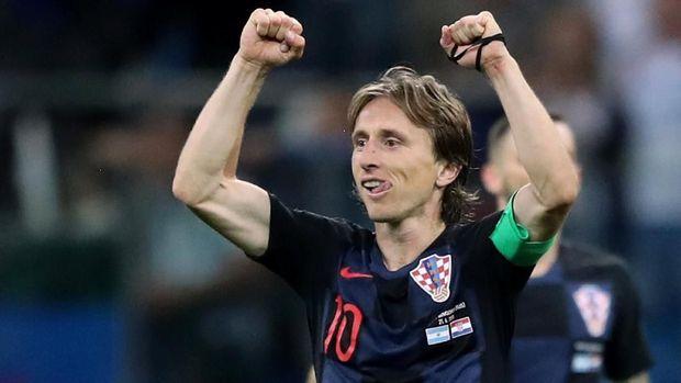 Luka Modric jadi jenderal permainan Kroasia di Piala Dunia 2018.
