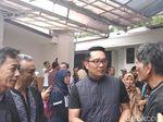 Ridwan Kamil Berdoa Bareng Hafiz dan Kiai Sebelum Debat Final