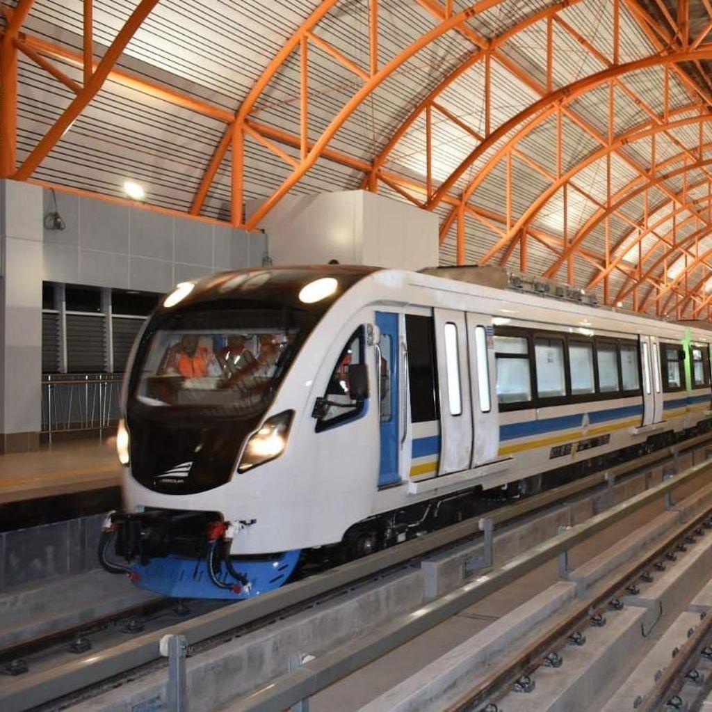 Jadi Polemik, LRT Palembang Diresmikan Jokowi 15 Juli
