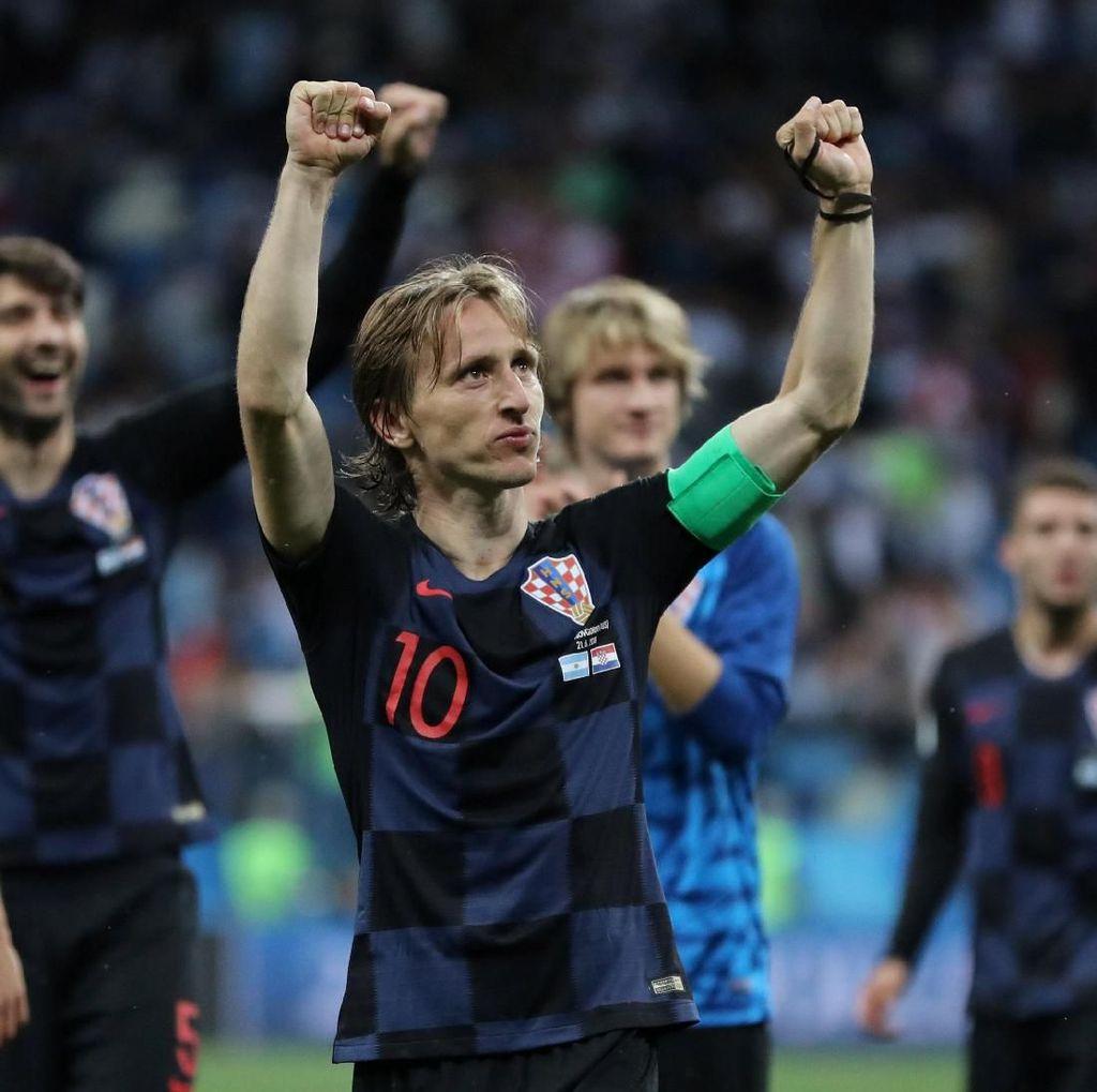 Modric: Jangan Terlalu Senang Dulu, Kroasia!