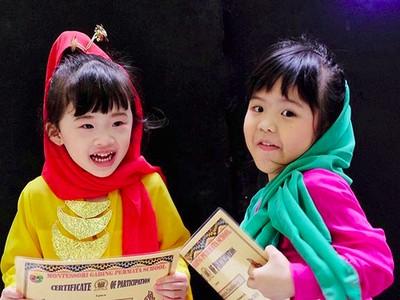 Cute-nya Anak-anak Ini Saat Pakai Baju Adat Betawi