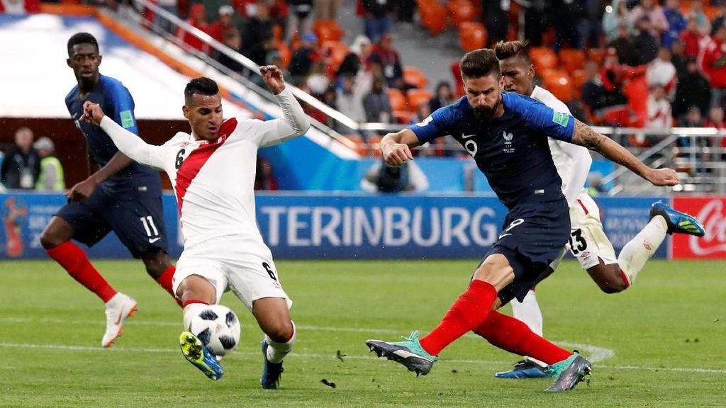 Prancis vs Peru: Bukti Superioritas Les Bleus
