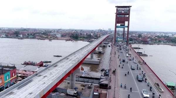 Ini Manfaat Pembangunan LRT Palembang yang Disebut Boros