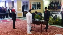 Eko Subowo Dilantik Jadi Pj Gubernur Sumut