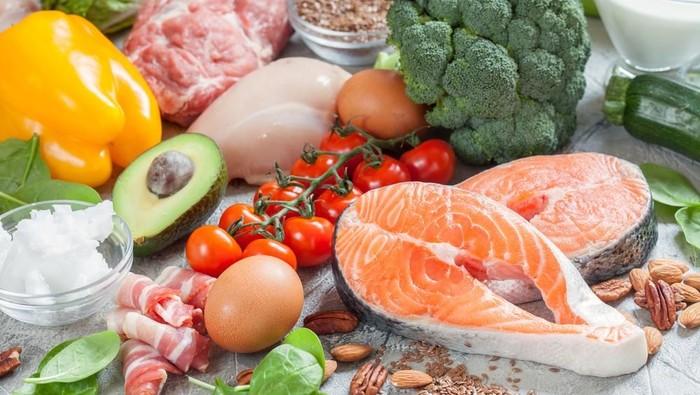 Diet keto memfokuskan asupan nutrisi pada protein dan rendah karbohidrat. (Foto: shutterstock)