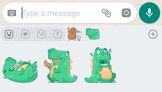 WhatsApp Ikutan Bikin Stiker