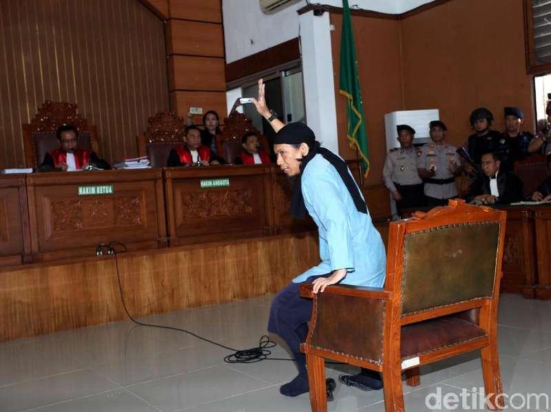 Aman Abdurrahman Divonis Mati, Sempat Pesan Agar Cepat Dieksekusi