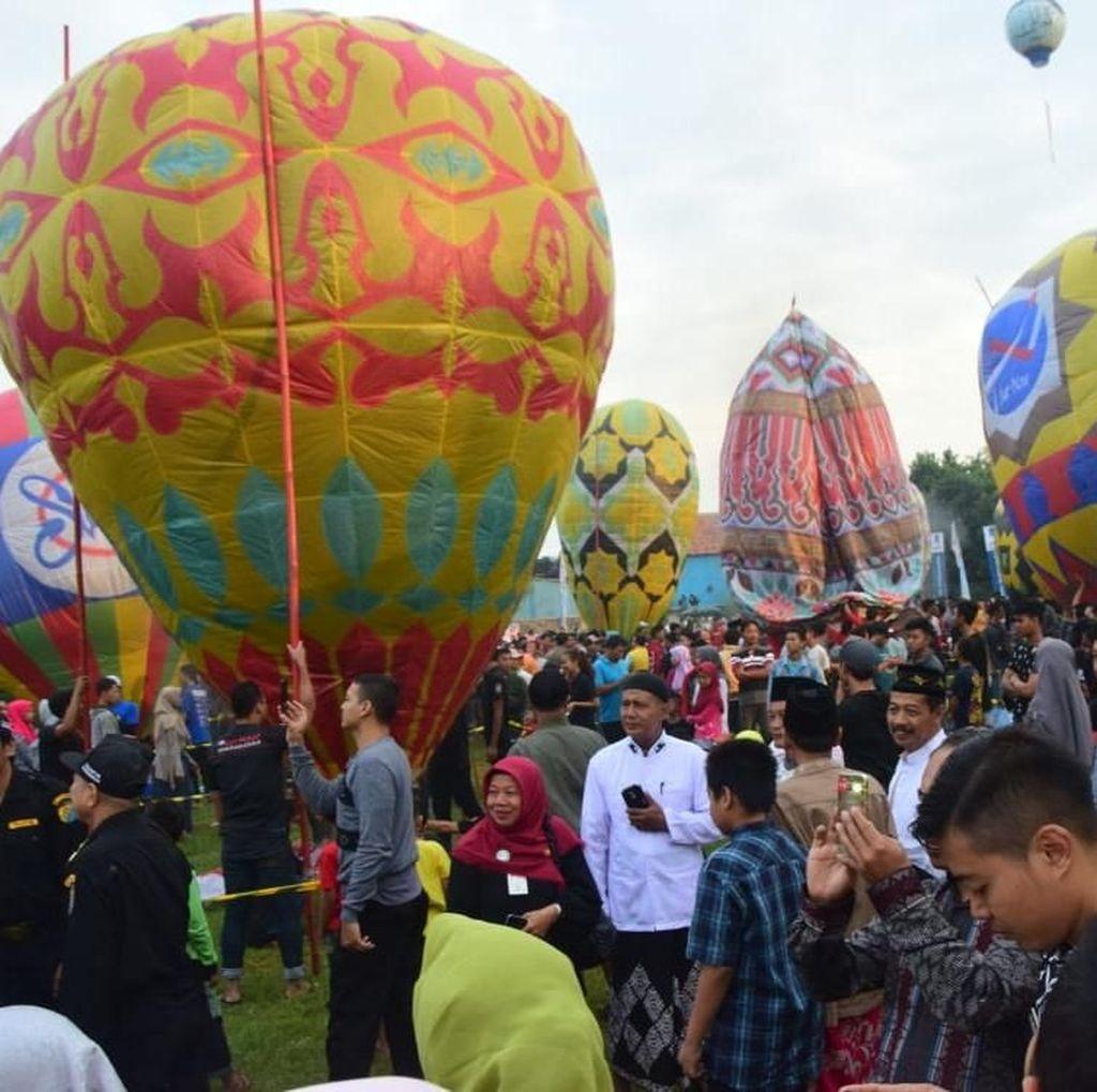 Gelar Festival Balon, Dirjen Udara: Pemerintah Hormati Tradisi