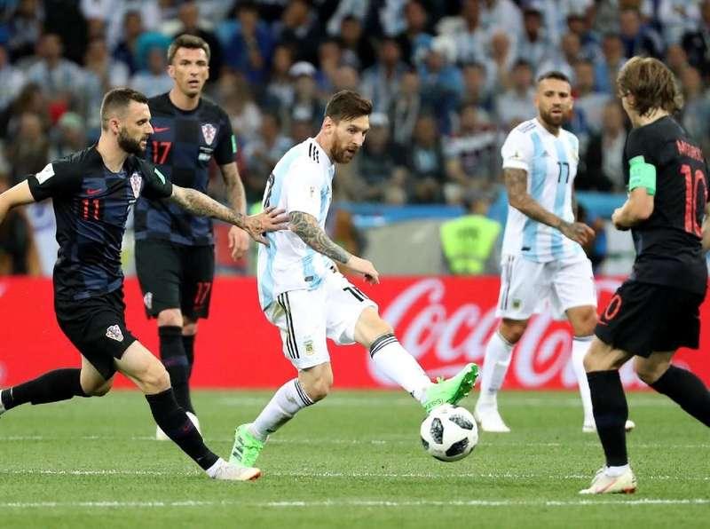 Video Highlights Babak I Argentina Vs Kroasia