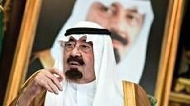 Mendiang Raja Arab Saudi Abdullah bin Abdulaziz.