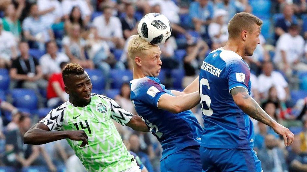 Nigeria Vs Islandia Masih 0-0 di Babak Pertama