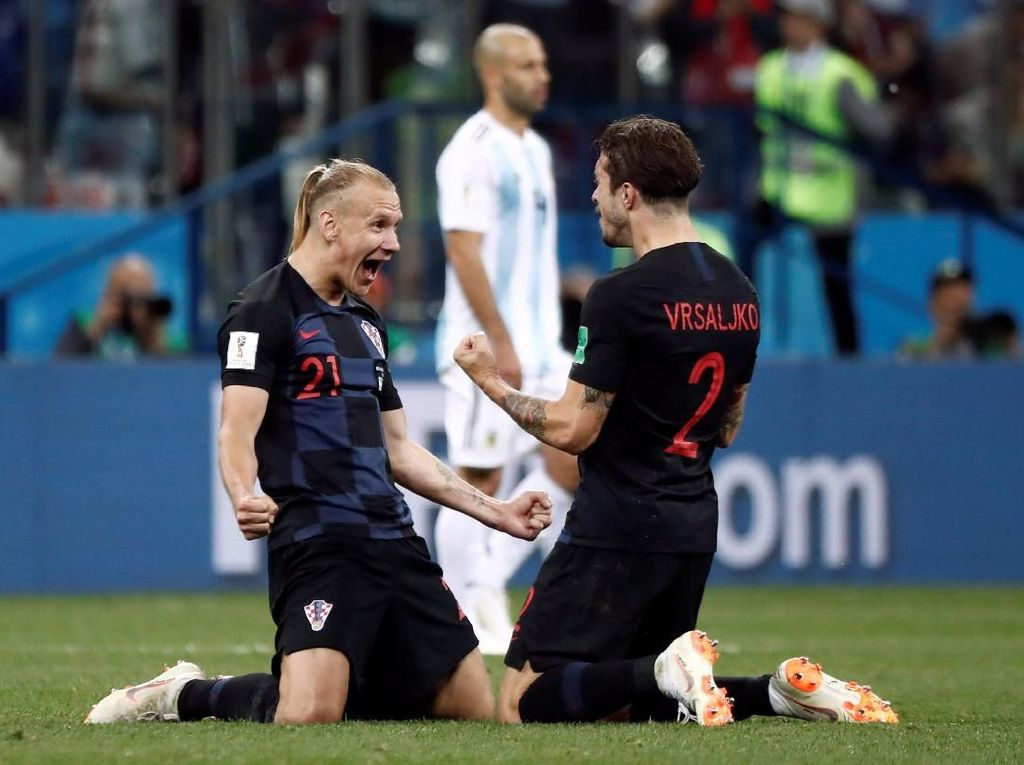 Video Highlights: Argentina Vs Kroasia 0-3
