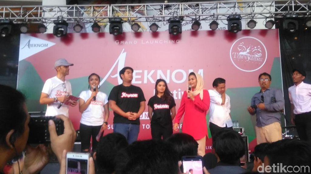 Puti Launching areknom.com, Wadah Kreatifitas Anak Muda Jatim