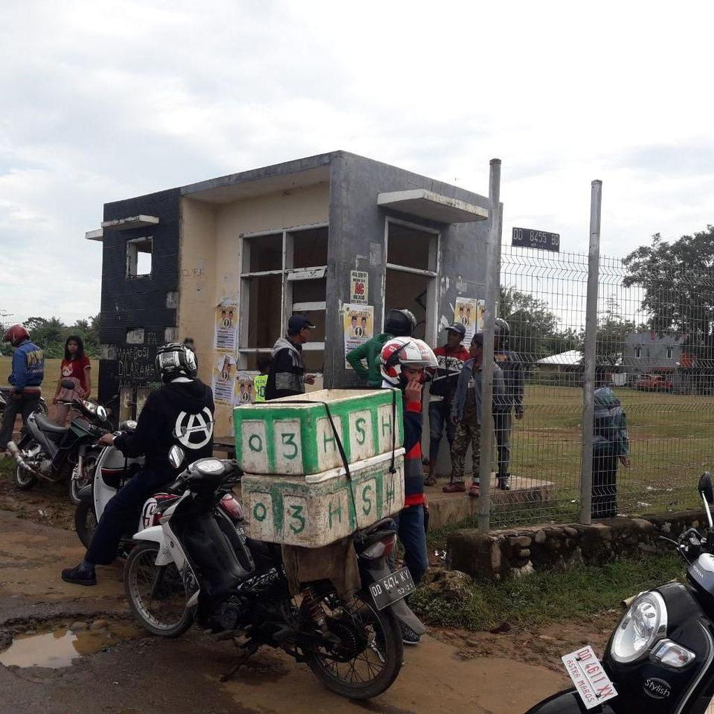Bayi di Tas Hitam Dibuang di Pos Bandara Hasanuddin