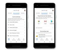 Pembaruan keamanan akun Google.