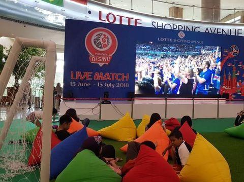 Lotte Shopping Avenue gelar nonton bareng Piala Dunia