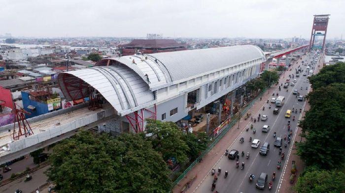 LRT Palembang/Foto: dok. detikcom