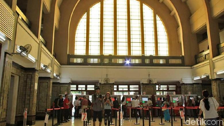 Stasiun Batavia, sekarang Stasiun Jakarta Kota (Randy/detikTravel)