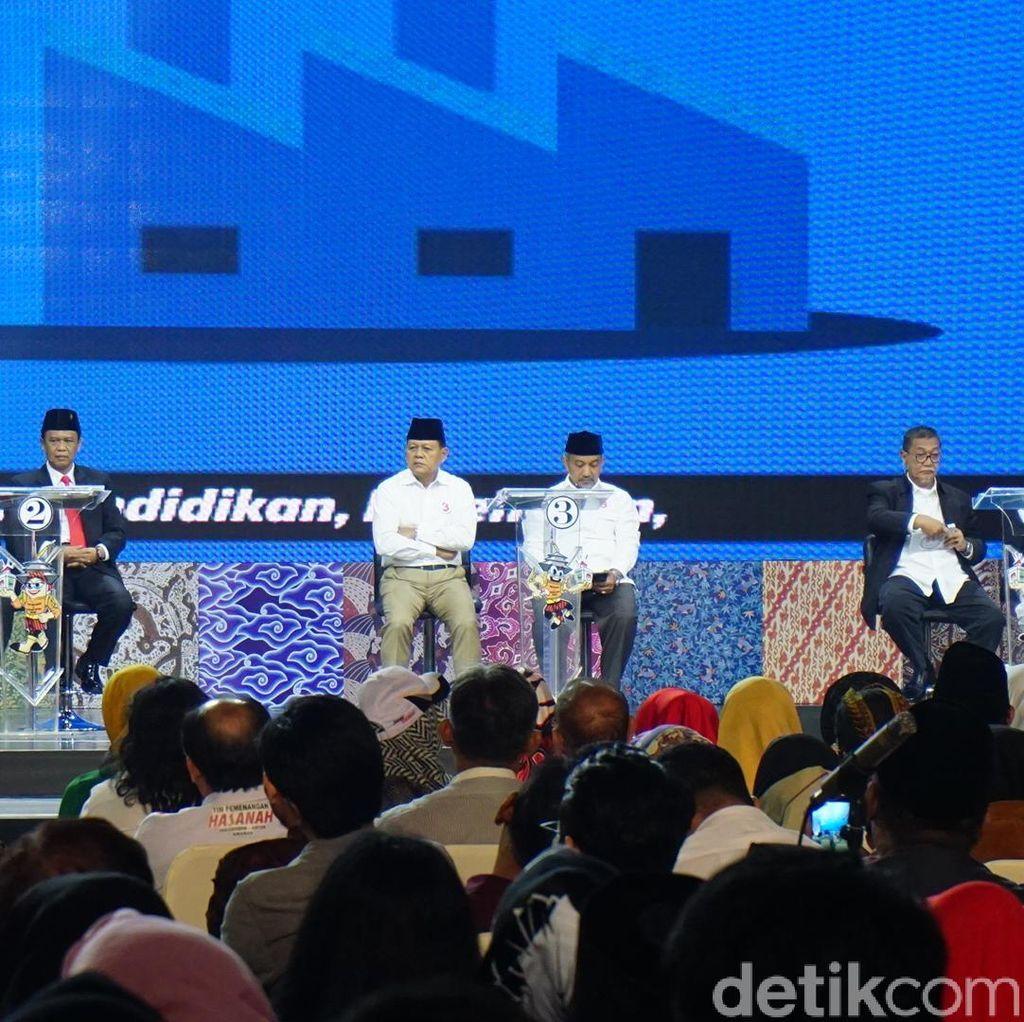 Sapa Prabowo di Debat Cagub Jabar, Sudrajat: Kami Lihat Masa Depan