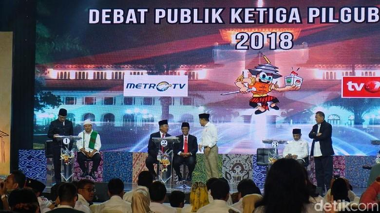 Debat Cagub Jabar Pamungkas Kondusif, Kapolda Puji Empat Paslon
