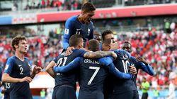 Tundukkan Peru 1-0, Prancis Lolos ke 16 Besar