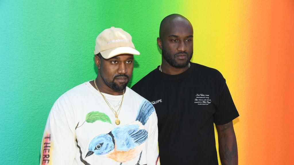 Debut Virgil Abloh Off-White di Louis Vuitton, Kanye West Menangis
