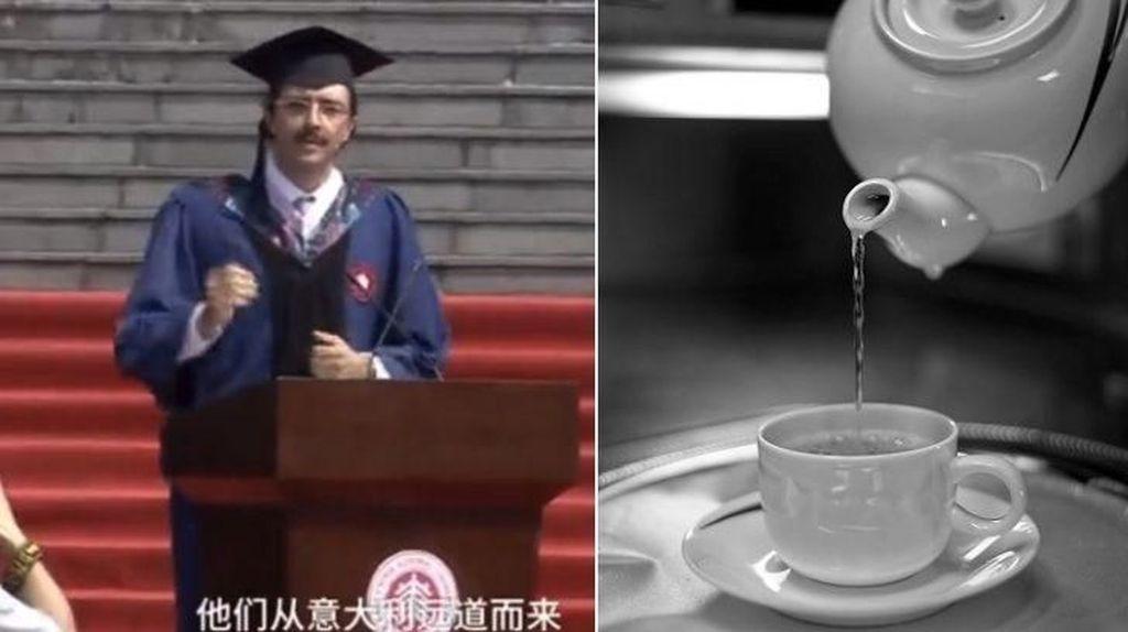 Pidato Kelulusan Mahasiswa Ini Viral karena Bahas Air Panas