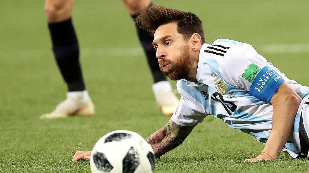 Di Mana Messi Saat Argentina Dibantai Kroasia?