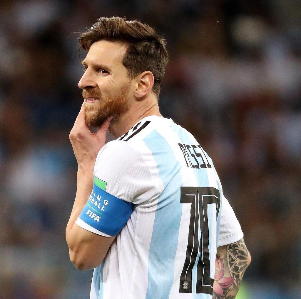 Laju Buruk Argentina Kado Pahit Ulang Tahun Messi