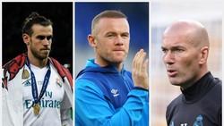 Zidane Hingga Caballero: Bintang Lapangan Hijau yang Dilanda Kebotakan