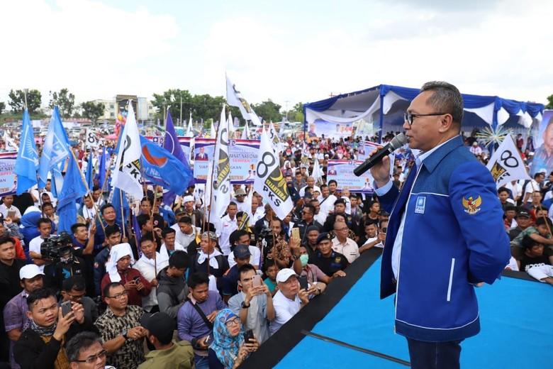 Ketum PAN Terjun Langsung Menangkan Cagub Riau Syamsuar