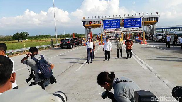 Presiden Jokowi cek Tol Gempol-Pasuruan