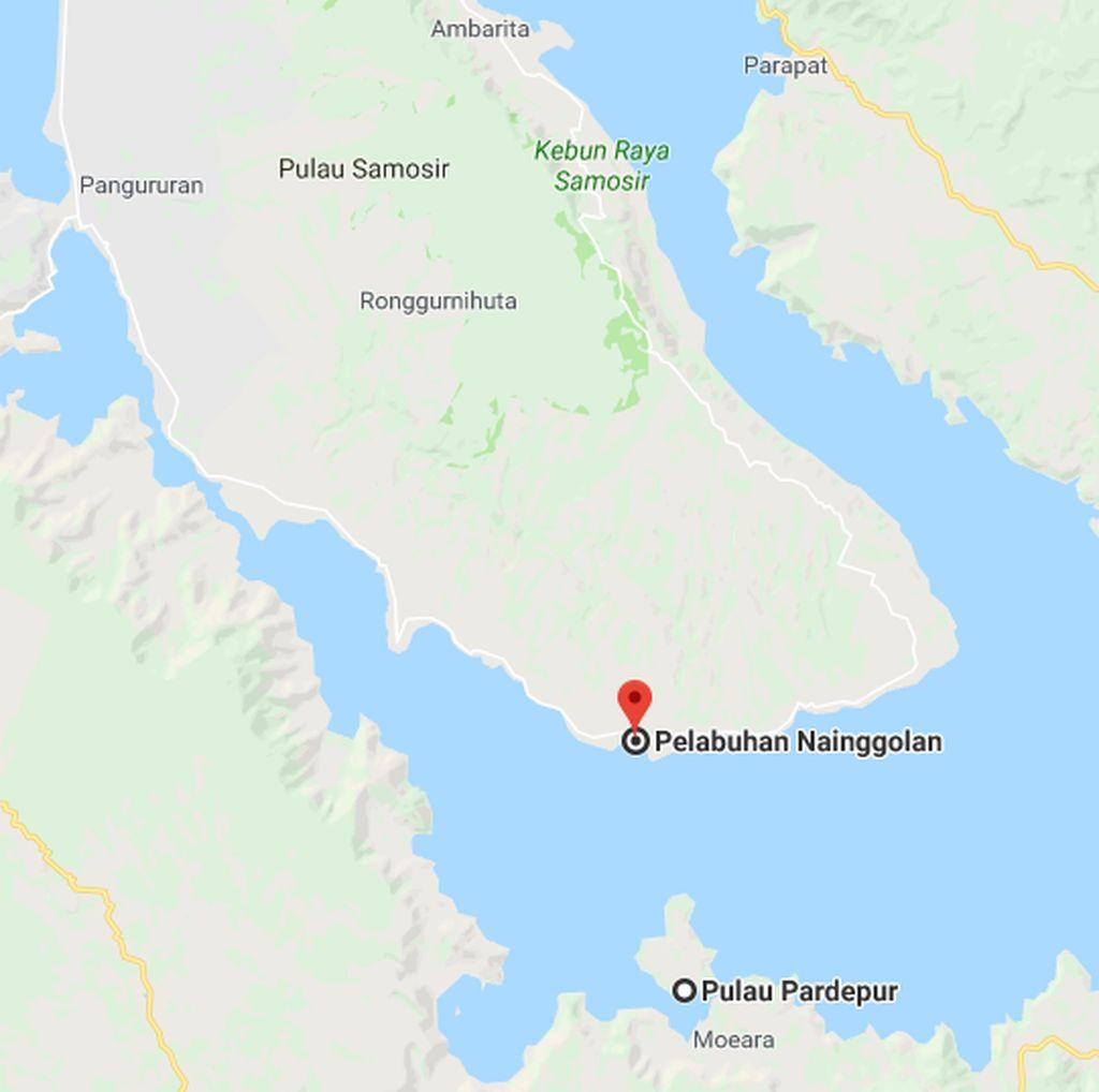 1 Orang Hilang di Danau Toba usai Dorong Kapal saat Badai