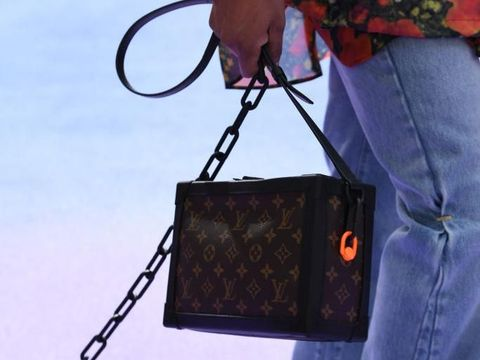 Tas Louis Vuitton Petit-Malle versi Virgil Abloh.