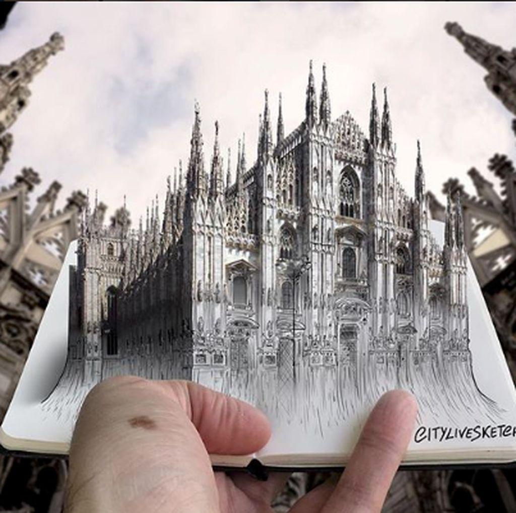 Kerennya Sketsa dan Fotografi Karya Seniman Itali