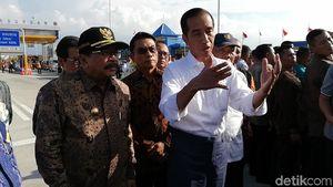 Jokowi Targetkan Merak-Banyuwangi Terhubung Tol 2019