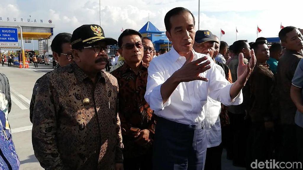 Kata Jokowi soal Infrastruktur yang Tak Melulu Hanya Ekonomi