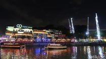 Foto: Tempat Terbaik Habiskan Malam di Singapura