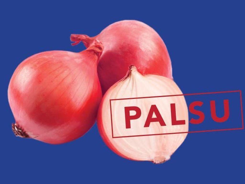 Penampakan Bawang Merah Palsu Impor India