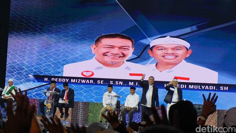 Deddy Mizwar Sentil Laga Brasil di Debat Cagub Jabar