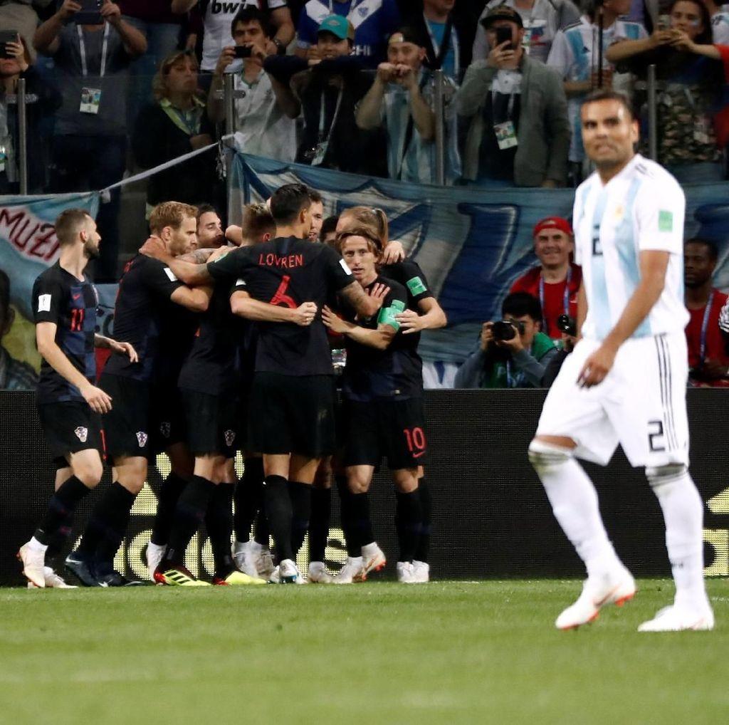 Permalukan Argentina 3-0, Kroasia Lolos ke Babak 16 Besar