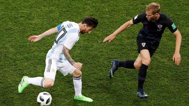 Peluang Argentina lolos fase grup semakin berat usai dikalahkan Kroasia,