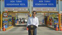 Jokowi: Yang Suruh Makan Jalan Tol Siapa? Sakit Perut Nanti