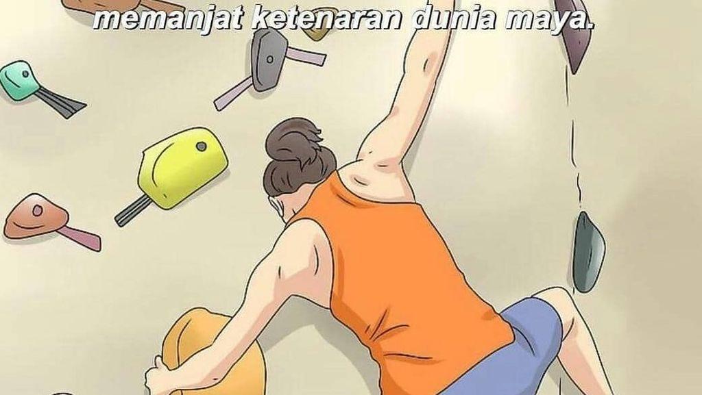 Deretan Meme Ilustrasi Olahraga yang Diplesetkan, Receh Tapi Bikin Ketawa