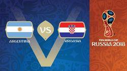 Live Report Piala Dunia 2018: Argentina vs Kroasia