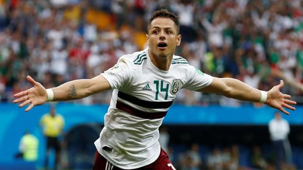 Javier Hernandez sudah mencetak gol di tiga Piala Dunia berbeda.