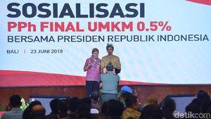 Tolak Hadiah Sepeda, 2 Orang di Bali Pilih Foto Bareng Jokowi