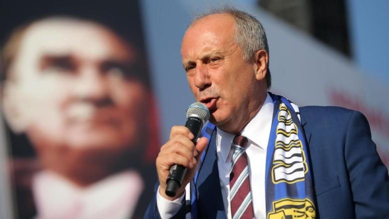 Foto: Muharrem Ince, Eks Guru Fisika Penantang Utama Erdogan