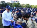 Program Padat Karya Tunai Buka Lapangan Kerja di Pedesaan