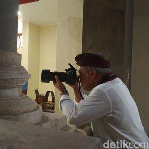 Gaya Menteri Basuki Motret Jokowi saat Kunjungan ke Bali